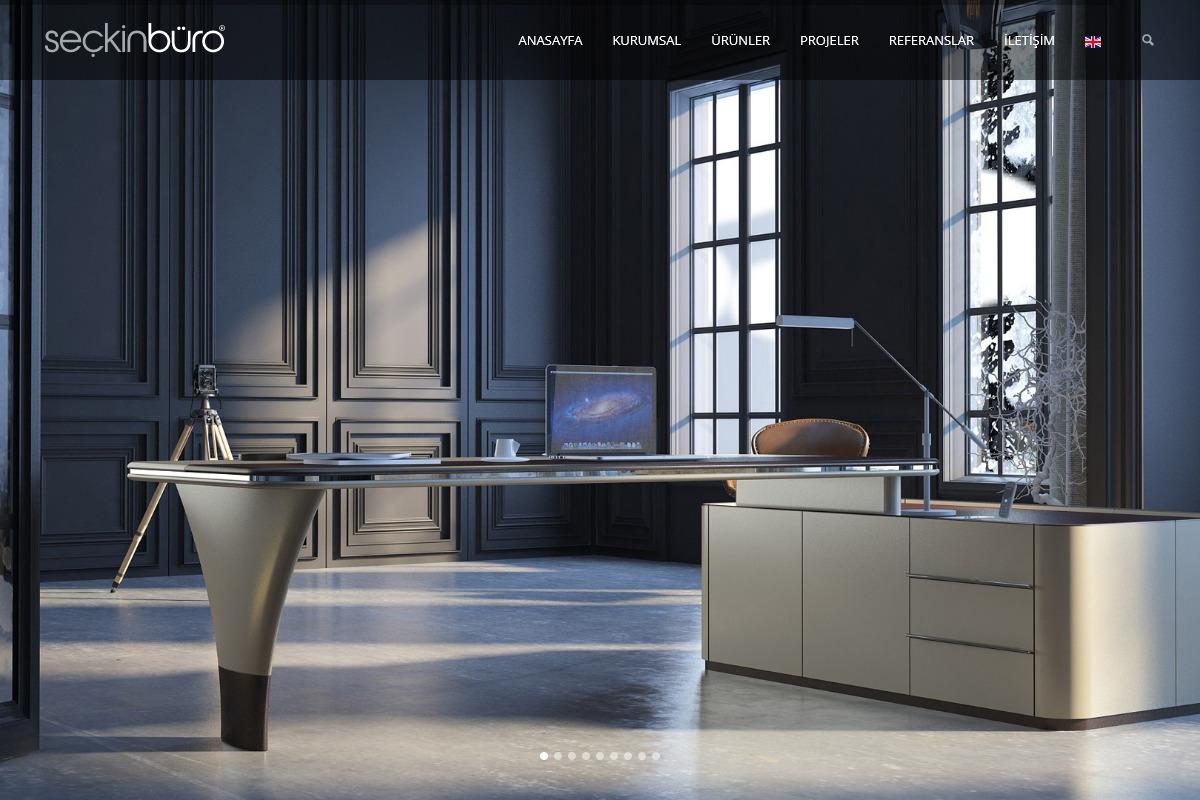 Seçkin Büro web tasarım